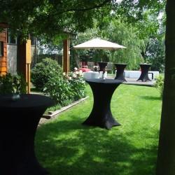 Catering in de tuin