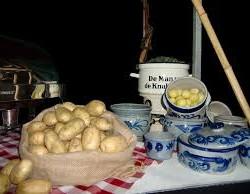 de versi ingrediënten voor een winterbuffet